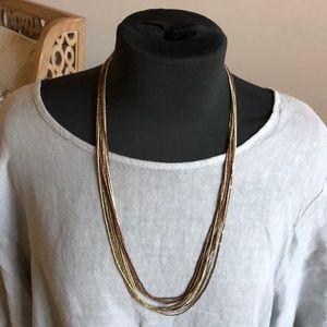 Women's multi-strand necklace